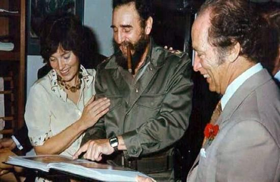 Pierre and Margaret Trudeau visit Fidel Castro in Cuba 1976