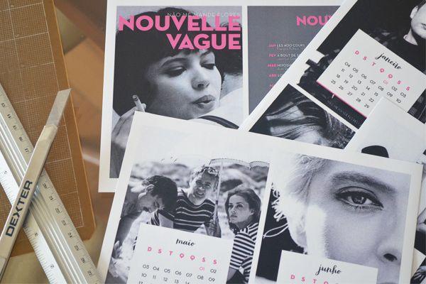 Calendários lindos de 2015 para imprimir