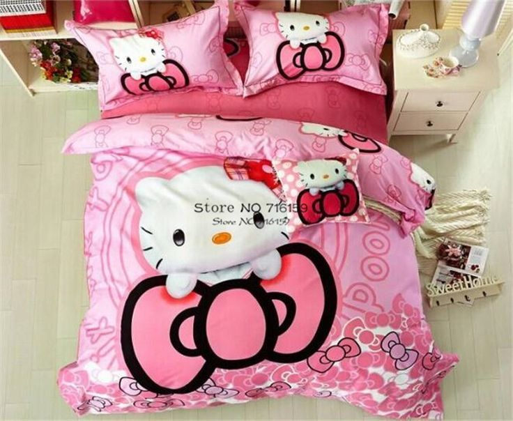 hello kitty bedding kids bedding sets quilt cover kid beds bed sheets sheet sets cartoon minions duvet