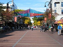 Burlington VT. Pop 42k, Seasonal Tourism, good retail sector-Church Street Marketplace, 20% pop below poverty level