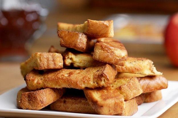 Vídeo. Palitos de tostadas francesas
