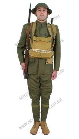 Ww1 Soldiers Uniform Us ww1 infantry uniform 01 | peeps ...