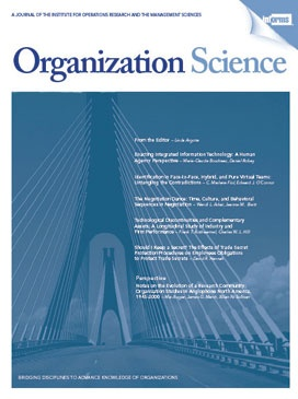 11 best publications worth reading images on pinterest management organization science is ranked among the top journals in management by the social science citation index in terms of impact and is widely recognized in the fandeluxe Choice Image