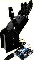 Proyectos de robótica ~ EP - Electro Pc   Robótica mano controlado con arduino