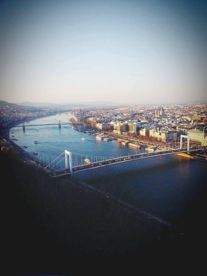 Budapest from the Gellért Hill