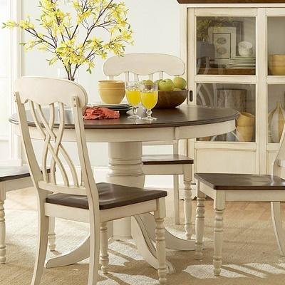 Woodbridge Home Designs Ohana 5 Piece Round Dining Set