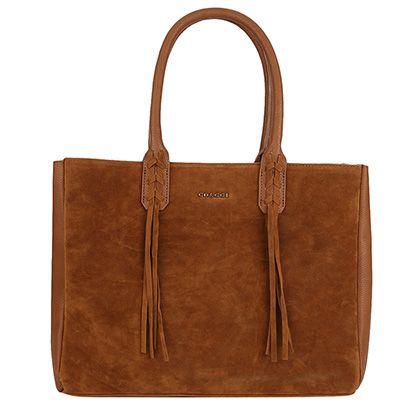 Compre Bolsa Colcci Camurça Tote Caramelo na Zattini a nova loja de moda online da Netshoes. Encontre Sapatos, Sandálias, Bolsas e Acessórios. Clique e Confira!