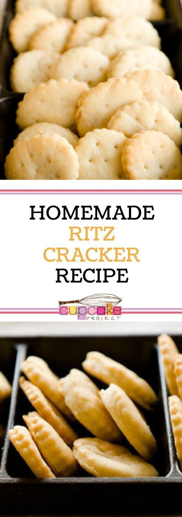 Easy homemade ritz crackers recipe that your kids and whole family will love! Enjoy Ritz crackers without high fructose corn syrup and partially hydrogenated oils using this amazing recipe. For more simple baking desserts recipes and homemade sweet treats