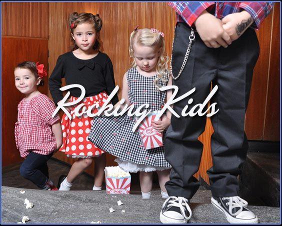 Rockabilliy Kids Clothing