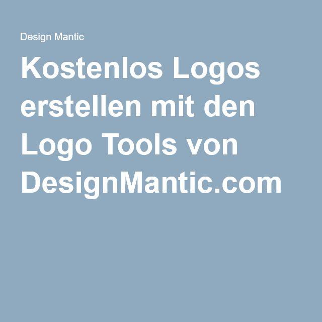 Kostenlos Logos erstellen mit den Logo Tools von DesignMantic.com