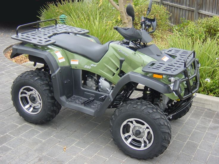 300cc 4WD Farm Quad Bike : http://www.biketrade.co.uk