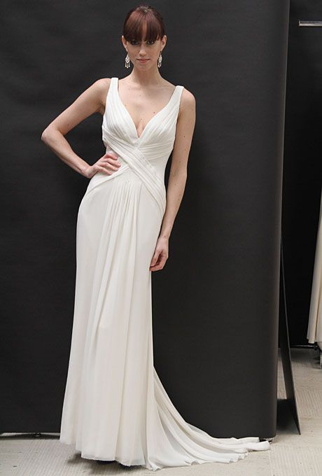 Vows Wedding Dresses Nyc : Casual wedding gowns with simple style for your second walk down the