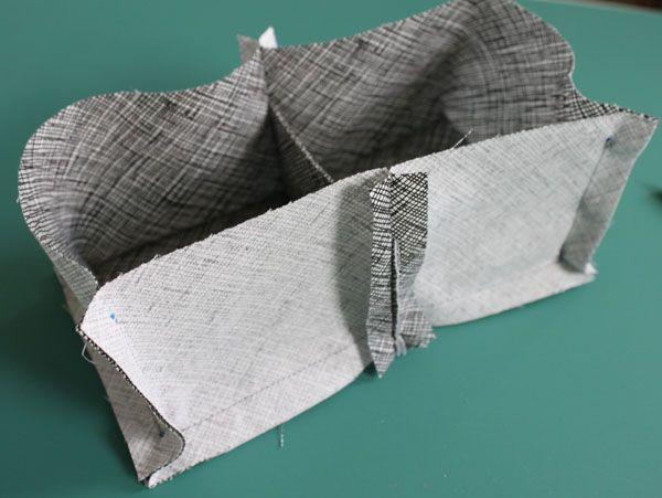 Tuto pour compartiment vide poche corbeille! social tote pattern help