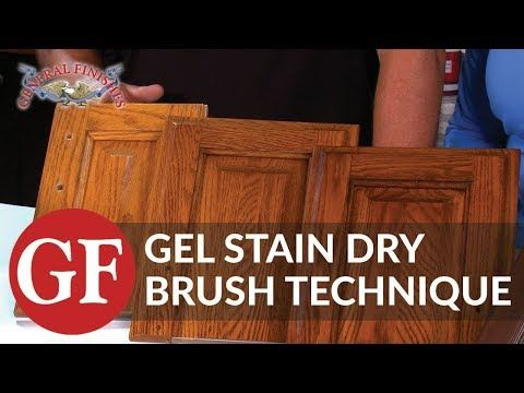 General Finishes Gel Stain Java In 2019 Kitchen Ideas Stained