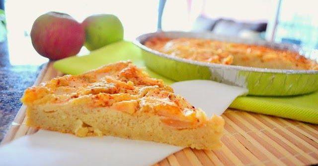 Tarta de manzana y queso