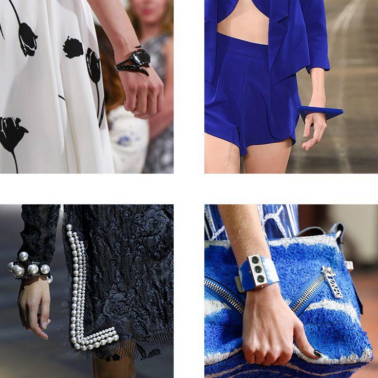 in detail catwalk trendS SS15 the bracelet 07 THE REIGN OF THE BRACELET