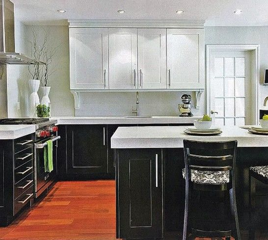 17+ Best Ideas About Two Toned Kitchen On Pinterest