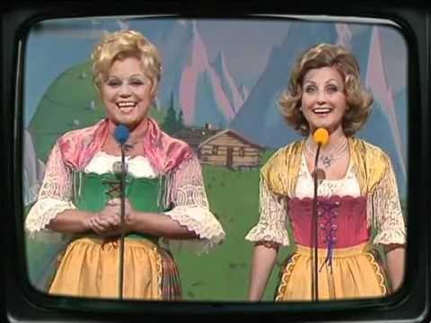 Maria & Margot Hellwig - Ich bring dir zum Geburtstag einen Jodler als Geschenk 1975 - YouTube