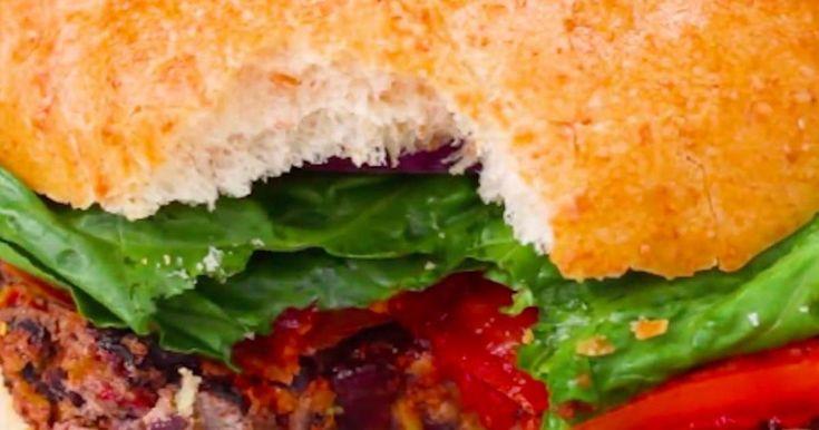 Un super burger bon pour la santé