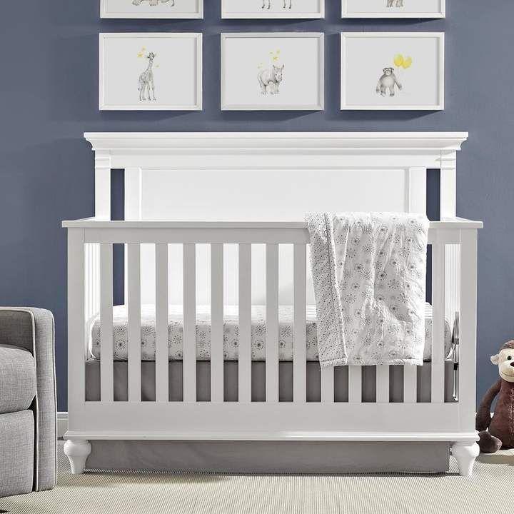 Three Posts Sandisfield 4 In 1 Convertible Crib White Crib Convertible Crib Cribs White 4 in 1 cribs