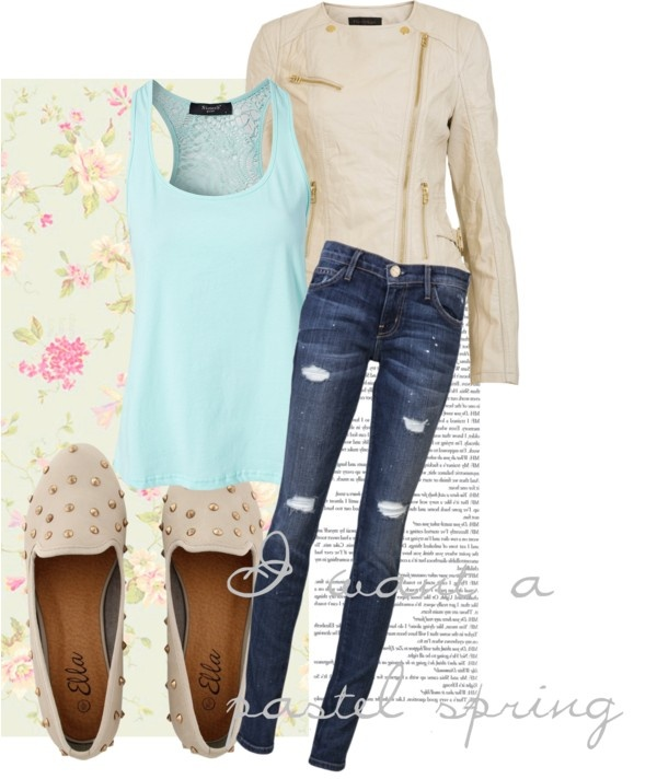 """A Pastel Spring"" by tomodel on Polyvore"