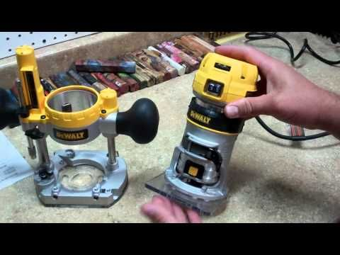 DeWalt DWP611PK 1.25HP Wood Router Kit Review * Wood Crafters Tool Talk