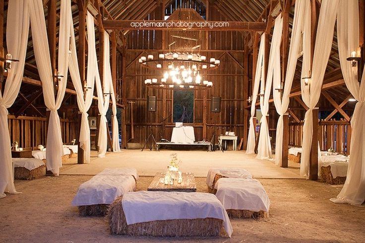 inside barn wedding reception ideas / http://www.himisspuff.com/rustic-indoor-barn-wedding-reception-ideas/6/