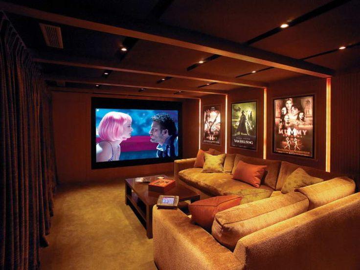 Home Theater Interior Design | Home Design Ideas