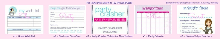 LEADERS!  Everything you and your teammates need is RIGHT HERE inside our YOU-niversity!  What to give your hostess, party crasher tickets, customer wish lists and care cards, party calendar and tons more! http://thepartyplansecret.com/membership.html