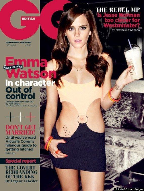 Emma Watson para GQ Magazine UK, mayo 2013.
