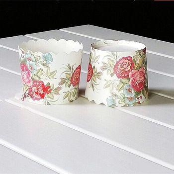 Одноразовые Ethinc цветок Pettern бумага кекс лайнеры выпечки торт форма формы новый год украшения даже ну вечеринку поставки