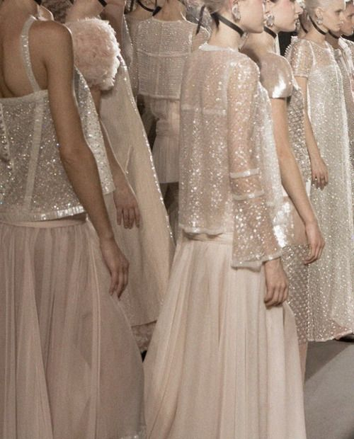 CHANEL, HAUTE COUTURE SS11.: Wedding Dressses, Style, Pearls, Evening Gowns, Blushes, Bridal Fashion, Photography Blog, Chanel Fashion, Haute Couture