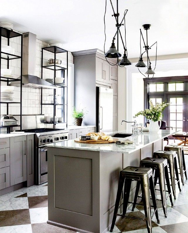 182 best k che ideen images on pinterest contemporary unit kitchens modern kitchens and word. Black Bedroom Furniture Sets. Home Design Ideas