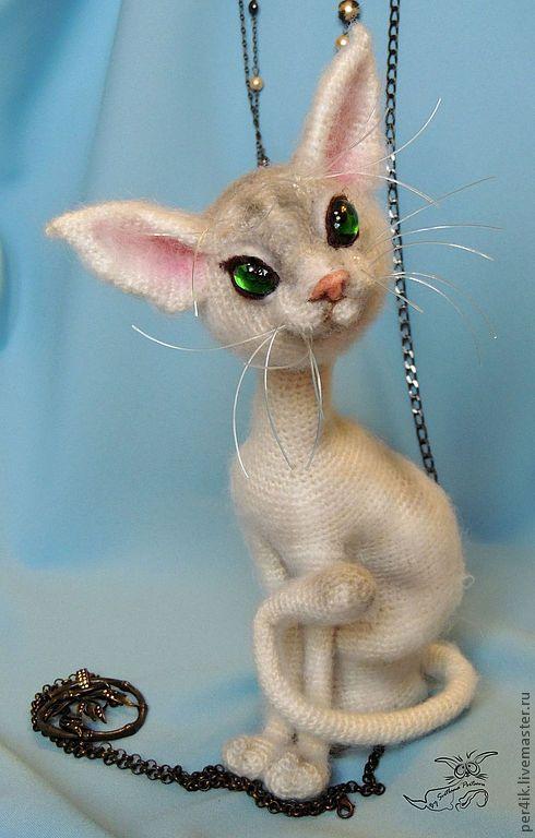 Купить Кошачья тайна... - кот, котенок, авторская работа, авторская игрушка, подарок, котик