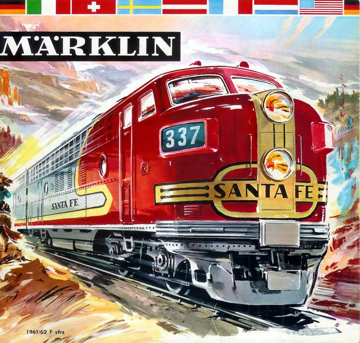 1961-62 Marklin catalogue