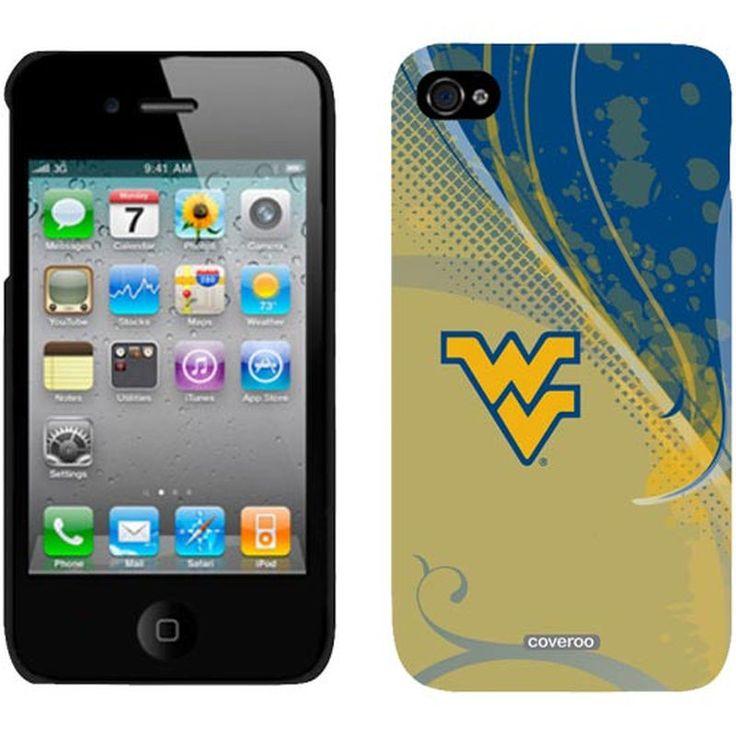 West Virginia Mountaineers Swirl iPhone 4/4S Case