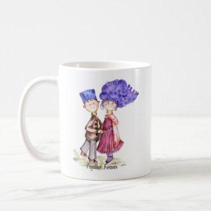 Wedding and Anniversary Gift Classic Mug - anniversary cyo diy gift idea presents party celebration