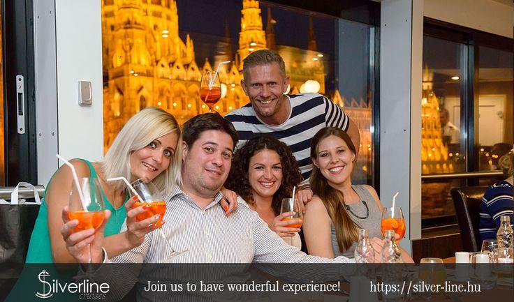 Budapest sightseeing cruise.