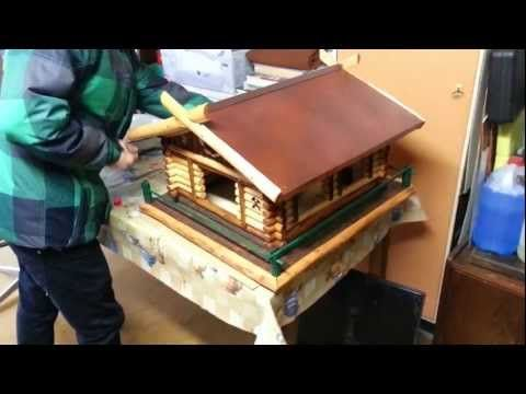 Vogelhaus bauen, Vogelhaus selber bauen, Bauanleitung Vogelhaus, Video - YouTube