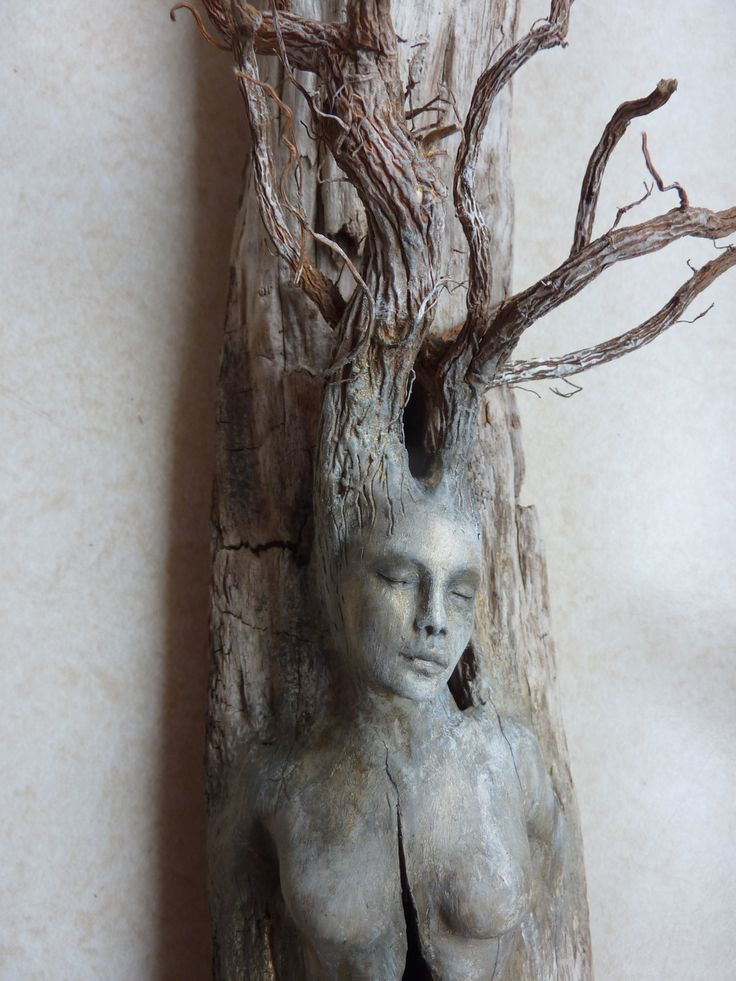 .Spirit Tree Woman with Stones by Shaping Spirit
