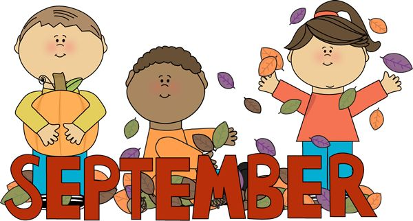 September Clip Art Free Http   Www Mycutegraphics Com Graphics Month