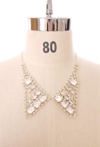 Chicwish Diamond Peak Collar: Chicwish Lists, Charms, Chicwish Diamonds, Collars Chicwish, Peaks Collars, Unique Fashion, Diamonds Peaks, Necklaces, Accessories
