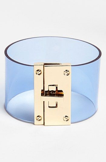Cara Couture Transparent Cuff available at #Nordstrom