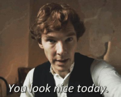 And who the hell wants compliments anyway? | 23 Reasons Why Crushing On Benedict Cumberbatch Is Madness