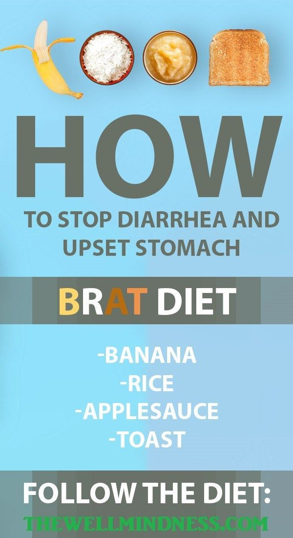 How To Stop Diarrhea And Upset Stomach Healthy Foods Tips
