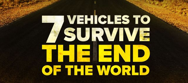 When civilization comes to an end you're going to need some rugged wheels to help you survive. Luckily, the folks at WhoCanFixMyCar.com have come up with this handy list of what you need to p…