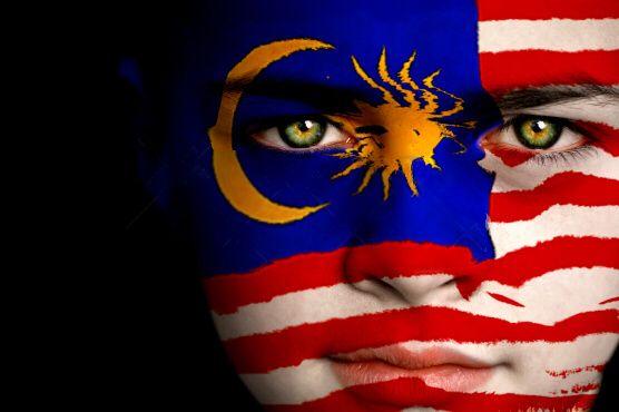 Malaysia Flag Boy