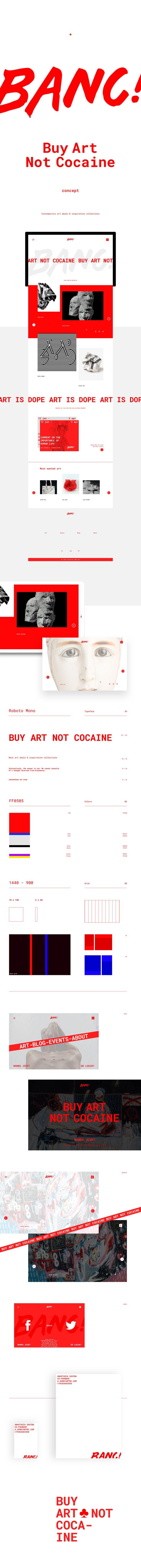 BANC! Buy Art Not Cocaine, Сайт © МихаилНовожилов