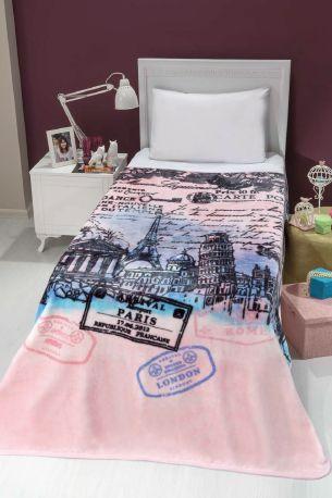 Hledáte originální dárek pro svou holčičku? Možná právě dětská deka EUROPA bude to pravé pro ní! Hebká, měkká a na dotek sametová deka v rozměru 160x220 cm překryje celou postel a bude příjemným zpestřením dětského pokojíčku!
