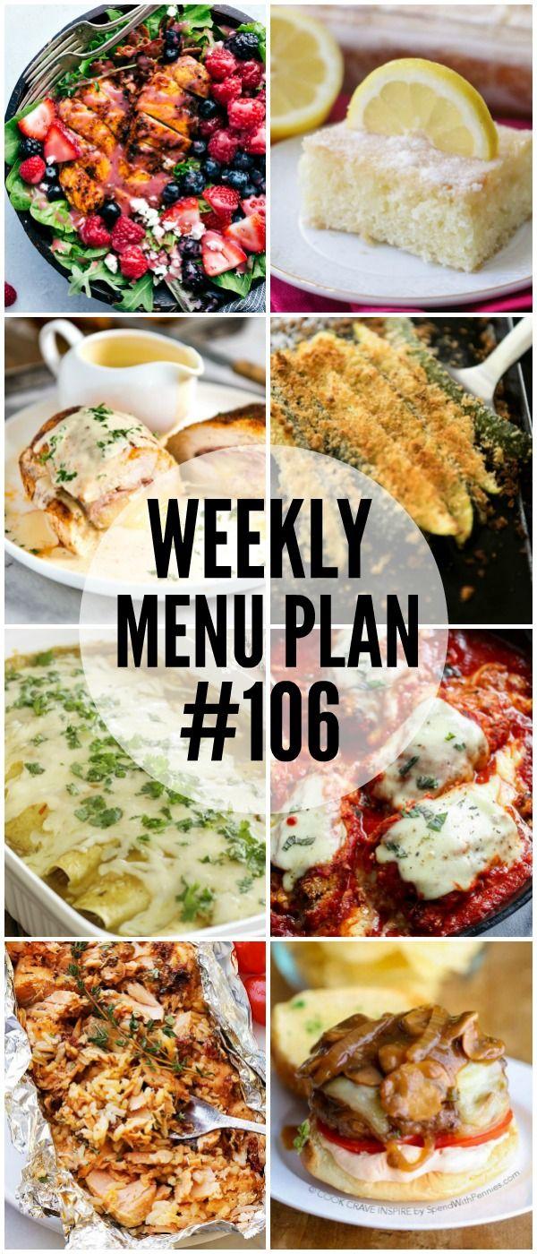 Weekly Menu Plan #106 via @favfamilyrecipz